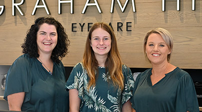 Graham Hill Eyecare - Reception Team